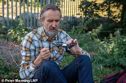 Organic farmer and activist Roger Hallam