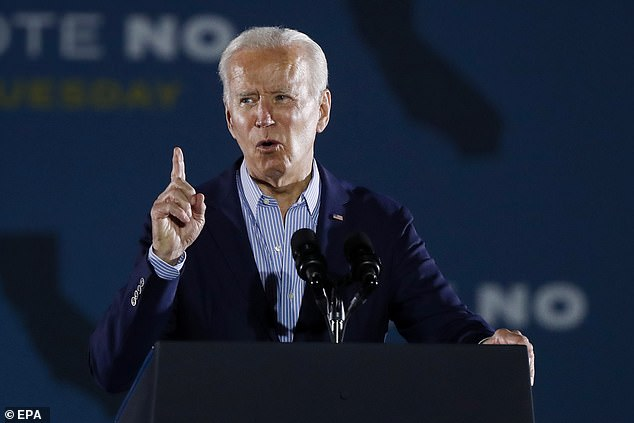 In an apparent swipe at US President Joe Biden, Putin appeared to describe American forces in Syria as 'illegal' because they have no permission from the UN or Assad