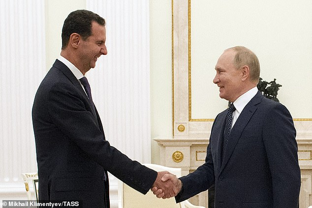 Russia's Putin and Syria's Assad met last night for lengthy talks and their first summit since they spoke in Damascus in January 2020