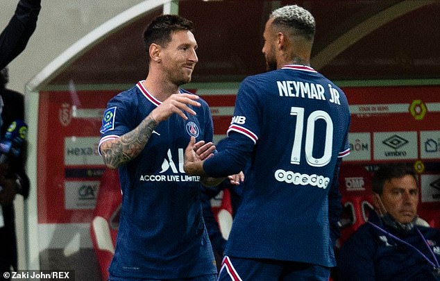 PSG, with Lionel Messi and Neymar leading the line, are behind Barcelona in list of favourites