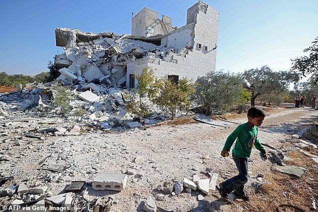 Idlib, the last rebel stronghold in northern Syria,is home to some 4 million people, many of them internally displaced by the conflict