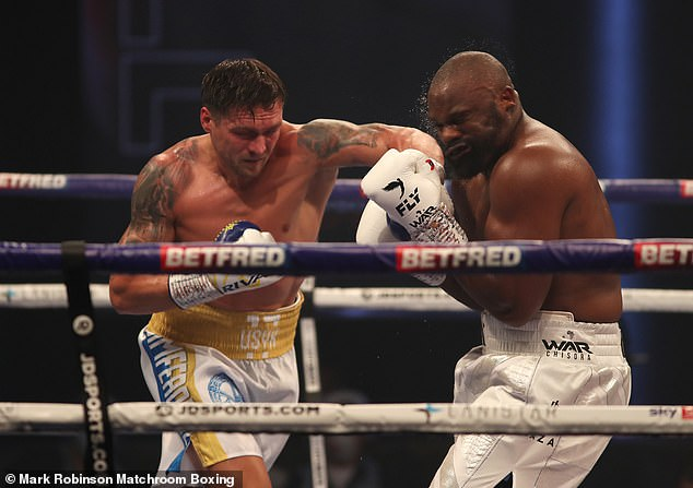 Chisora fell to a unanimous decision defeat to Oleksandr Usyk back in October 2020