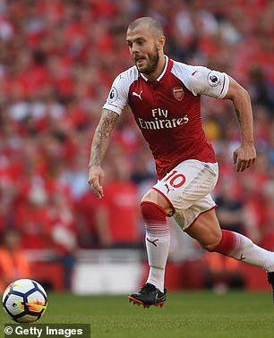 Wilshere, who came through the youth system at the Gunners and played for the first-team from 2008-2018, is currently still a free agent