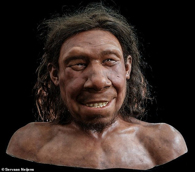 Cheer reconstructs the face of Krizan, a male Neanderthal called Krijn who lived and died 70,000 years ago