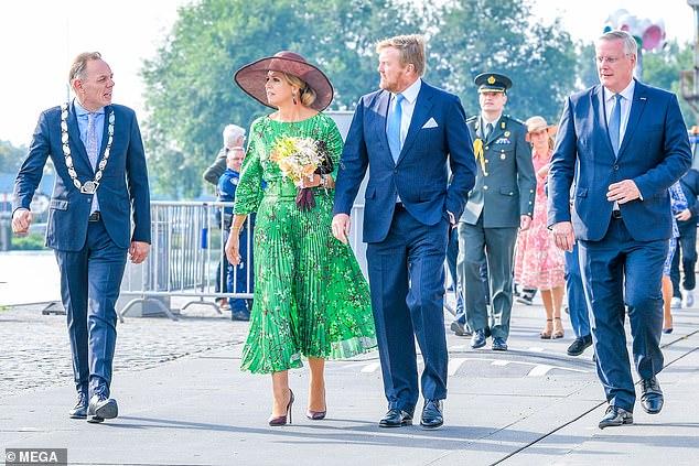is an international financier by royal training, married Willem-Alexander in 2002 in Amsterdam