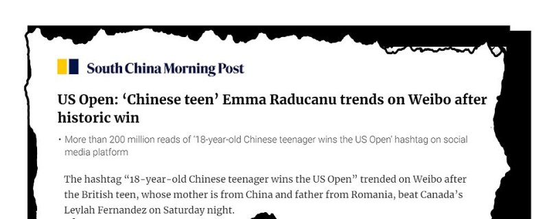 The media in China and south-east Asia have hailed the star as 'Chinese' while millions have also been posting about Emma on China's state-backed social network Weibo