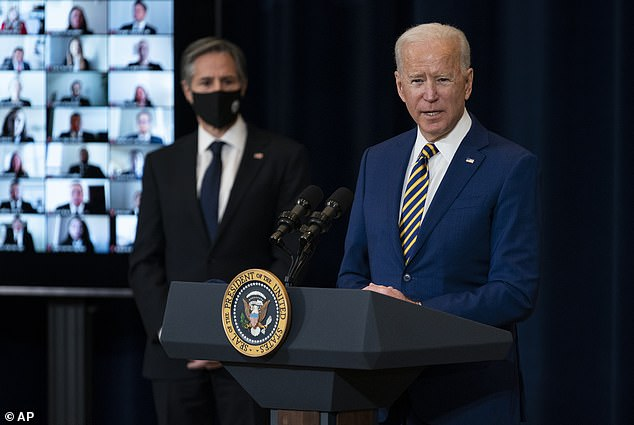 Trump said that not only was the Biden administration inept, that they would end up costing the country millions paying the Taliban to help set up their new government.