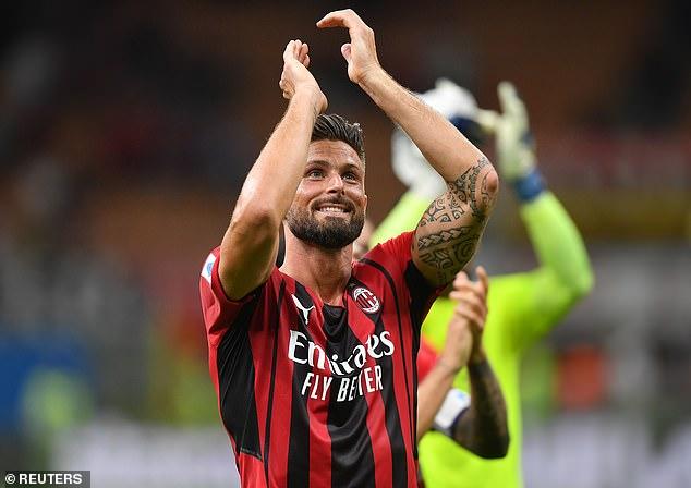 The Serie A giants will however welcome fellow striker Olivier Giroud back from coronavirus