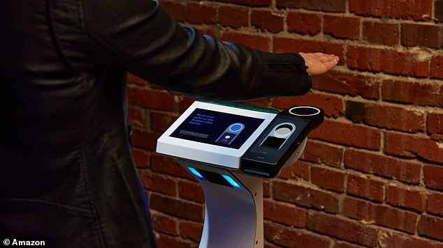 The Amazon One is now available on AXS's mobile ticketing pedestals, giving Red Rocks Amphitheater event goers the option to enter using just their palm.