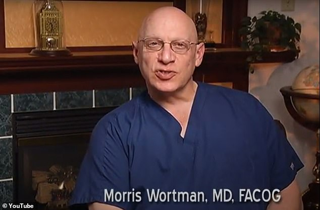 Dr Morris Wortman has been accused of inseminating patients nearly 40 years ago, resulting in at least one birth