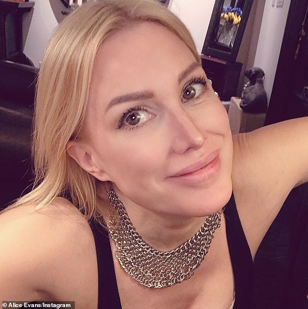 Sad news:Gruffudd is currently going through a messy split from ex wife Alice Evans and he filed for divorce in March, citing irreconcilable differences as the reason behind their split