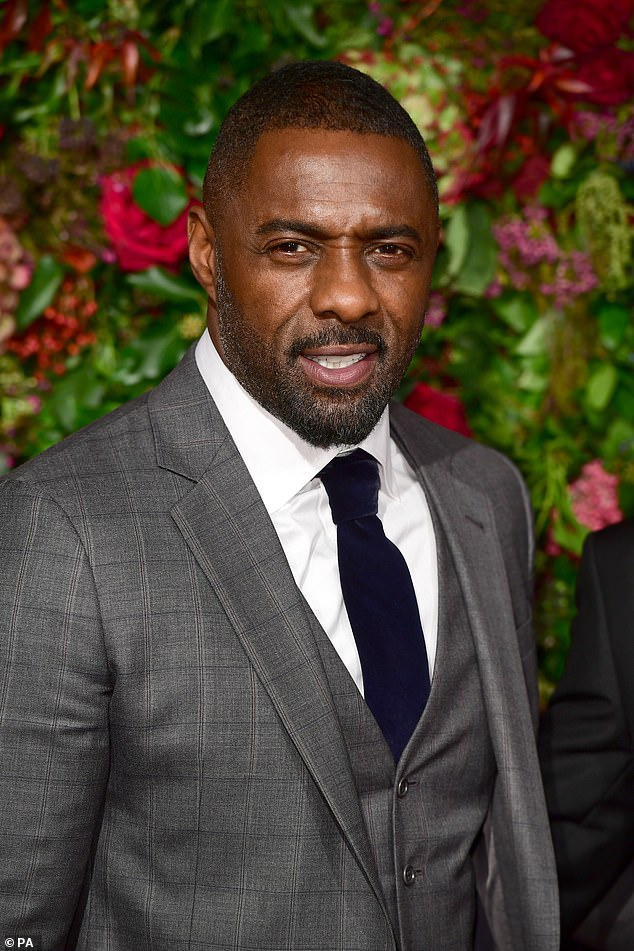 Star: Idris, 49, (pictured) will be in good company alongside Widows actress Cynthia Erivo, 34, and King Kong star Andy, 57, in the upcoming feature film written by series creator Neil Cross