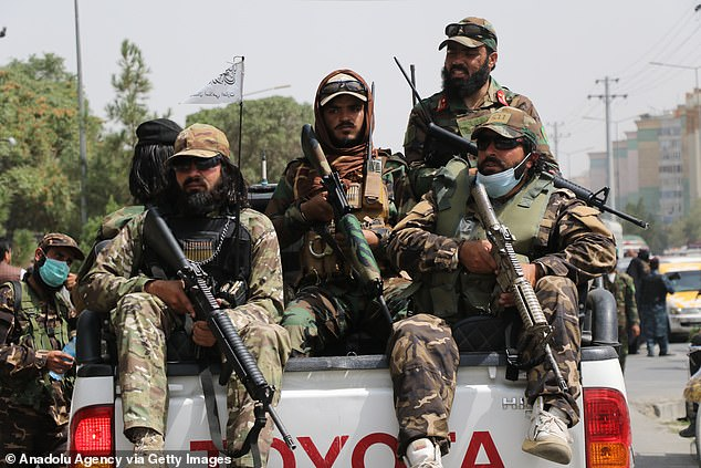 He also warned that the Taliban will send the 'most sophisticated' U.S. military equiptment left behind to China, Russia and other adversaries to be 're-engineered'