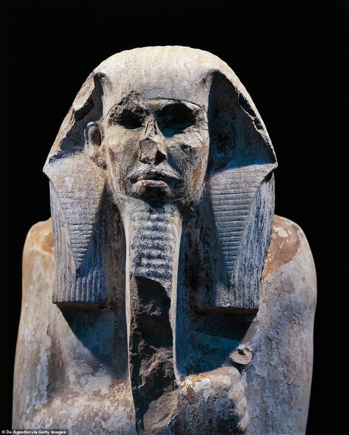 Qin Djoser, who ruled for nearly 19 years, is known for his use of stone architecture, which can be seen in the South Tomb, as well as the Step Pyramid and ancient ruins in Memphis - the capital southwest of what is now Cairo Is.