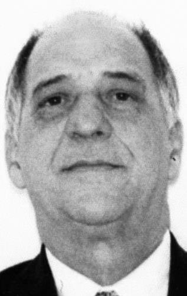 Reputed street boss of the Colombo crime family Andrew 'Mush' Russo, 85, wasarrested in an early-morning raid Tuesday over fraud and corruption