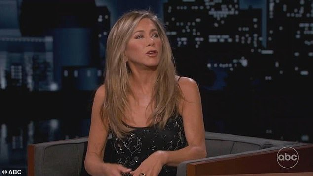 Big decision: He asked Aniston if she would be in the crowd at L.A. Live in Downtown Los Angeles, which she responded with: 'No, I will not be going'
