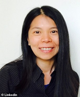 The government called as its first witness So Han Spivey, who also goes by Danise Yam (pictured), to talk about her time managing the finances at Theranos Inc from 2006-2017