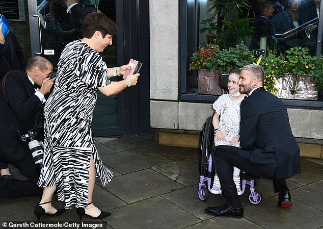 On air:Although the award is taking place on Tuesday night, it will be shown on Channel 4 on Sunday at 7.30pm - with Davina McCall hosting the show