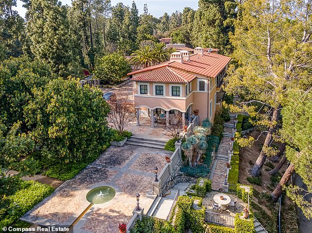 Slashing prices: Erika Jayne and her estranged husband Tom Girardi have dropped the price of their lavish Pasadena mansion yet again amid their ongoing legal battle and pending divorce