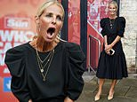Ulrika Jonsson puts on a VERY animated display at the Who Cares Wins awards