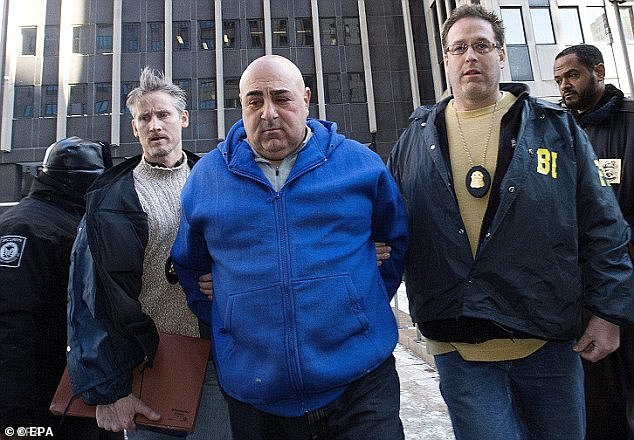 The feds also arrested a soldier for the Bonanno family, John 'Maniac' Ragano, who is charged with loansharking, fraud and drug-trafficking offenses