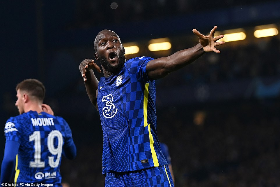 Romelu lukaku celebrates after scoring the only goal of the game against Zenit St. Petersburg on Tuesday night