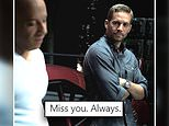 Vin Diesel shares an emotional birthday tribute to his late co-star Paul Walker: 'Miss you. Always'