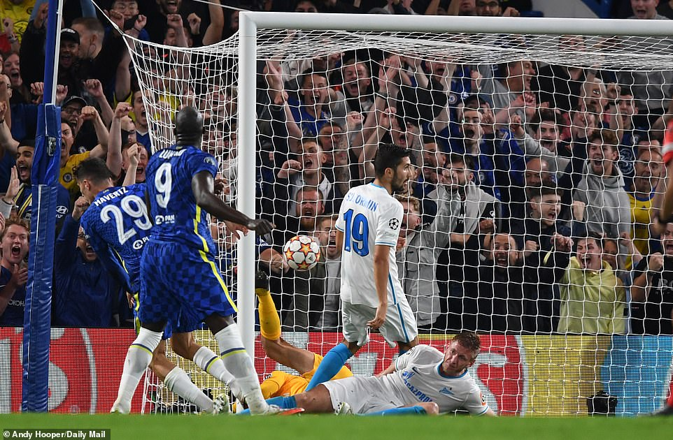 It was the striker's fourth goal in all competitions since returning to Chelsea from Inter Milan in the summer transfer window