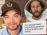 Guy Sebastian's leaked DMs about Covid vaccine campaign backflip