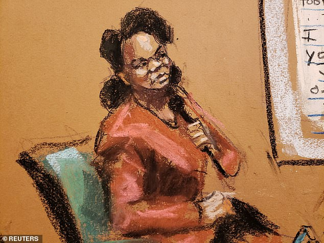 Diana Copeland, Kelly's former aide, testified that one of his girlfriends made her change into a robe during a 2019 meeting at Trump Tower so Kelly could see that she was not wearing a wire
