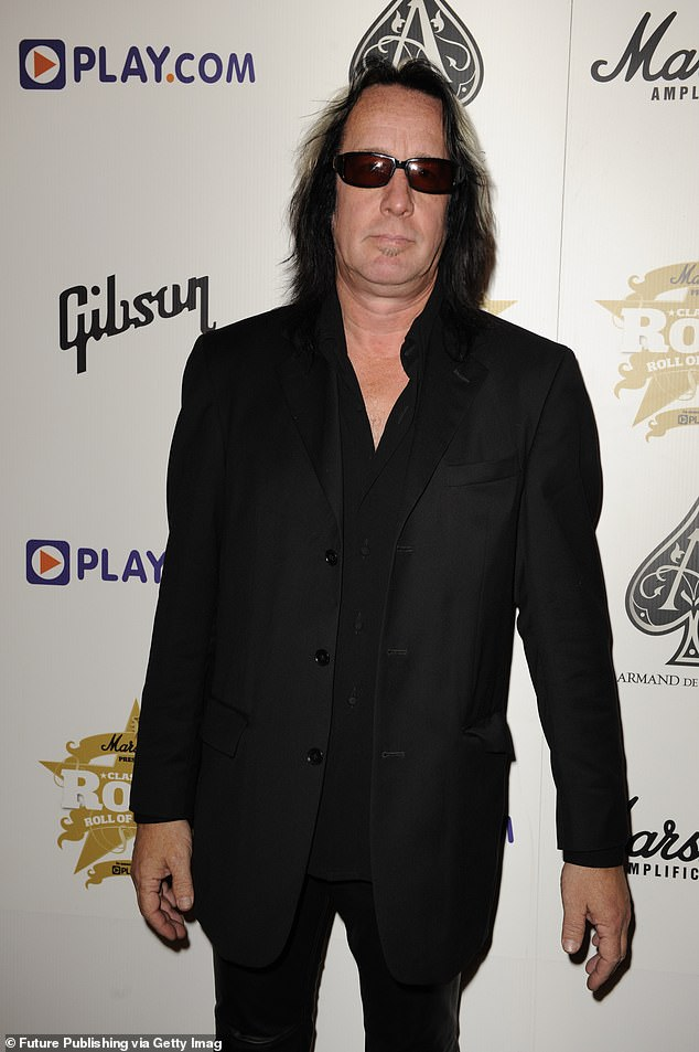 Opening up:Todd Rundgren did not hold back as he recalled working with Kanye West during the creation of the rapper's 10th studio album Donda, which was released in late August; pictured in 2008