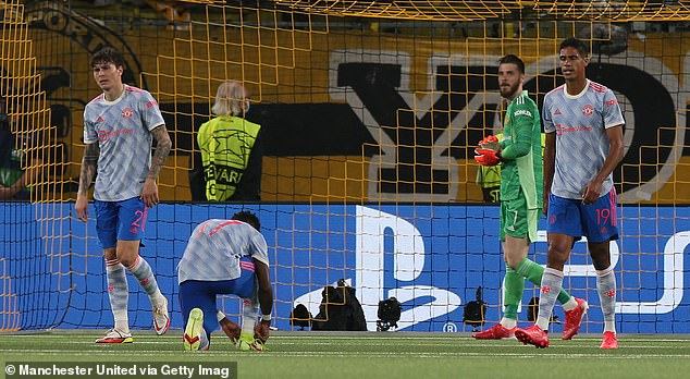 The Red Devils suffered their first defeat of the season on Tuesday - a 2-1 loss to the Young Boys