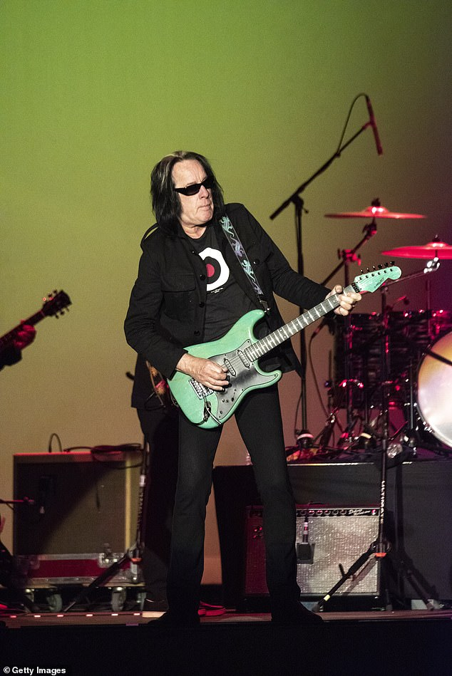 Only one:Rundgren would later poke fun at the seemingly endless collaborations on the album by noting that he is 'one of the few artists not on Kanye's album';Rundgren pictured in 2019
