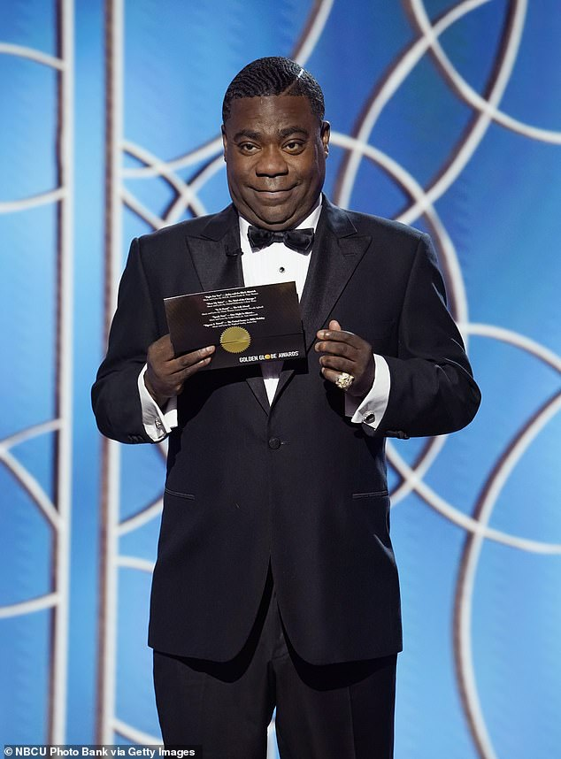 Good friends:'I'd been good friends with Tracy Morgan for a long time and always thought he was one of the funniest men in the world. I thought he would make a terrific triplet, and we rewrote the whole script for him. Now, we'll go out and try and put the money together and get it made,' Reitman added