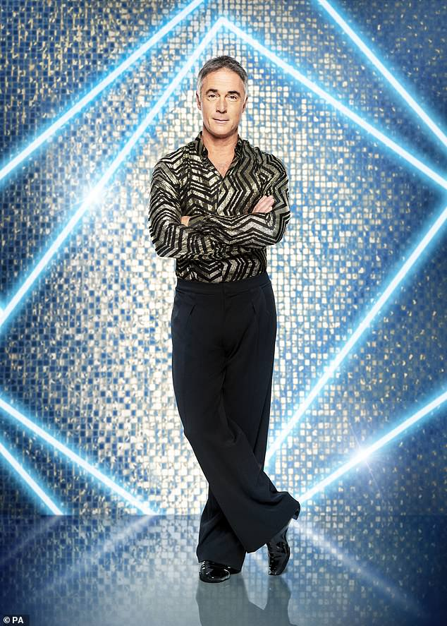 'She said I'd be mad not to do it!': Strictly's Greg Wise revealed his wife Emma Thompson convinced him to sign up - and even cancelled their HOLIDAY so he could join the lineup