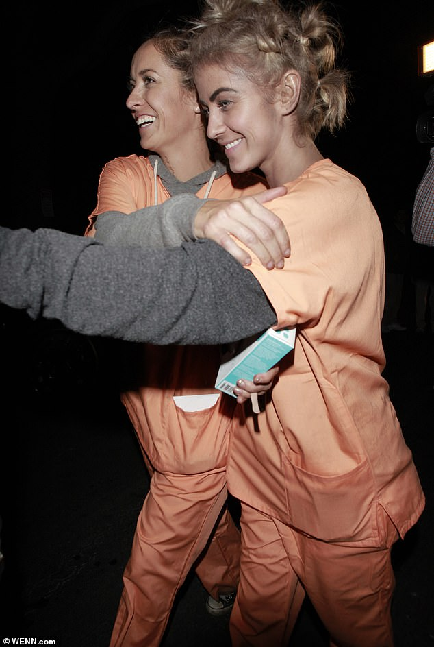 The incident:Back in 2013, Hough caused uproar when she darkened her skin to portray the Orange Is The New Black character 'Crazy Eyes,' who is played by actress Uzo Aduba