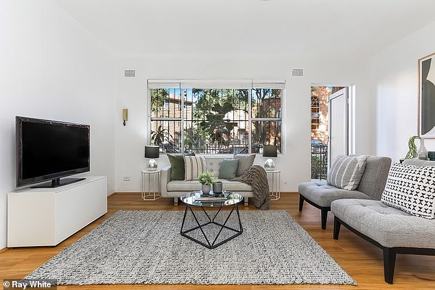 Home: The unit is in a tightly-held in a small block of six with ample living space and a good-sized balcony attached to it