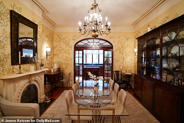City dwelling: The luxurious city dwelling boasts five floors, five bedrooms and six bathrooms