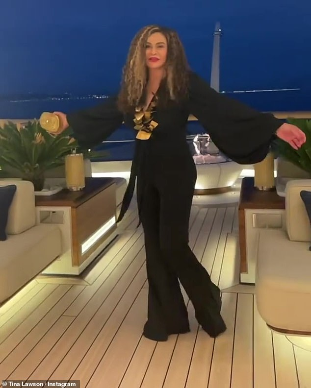 Bey's mom: Beyonce's mom Tina Knowles shared a slow-motion video of her nine-year-old granddaughter on Instagram on Tuesday evening