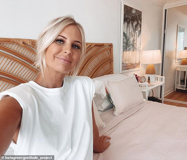 Ms Simson said she managed to solve the issue of skin irritation and redness over four months after turning to a $13.50 cream