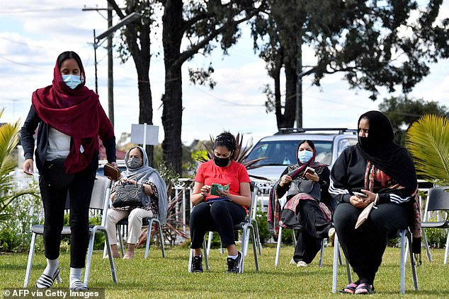 'I cannot stress enough how important it is for people to get vaccinated – if you have not had both doses of the vaccine by the time we hit the 70 per cent milestone, you will not be able to take advantage of these freedoms,' Ms Berejiklian said