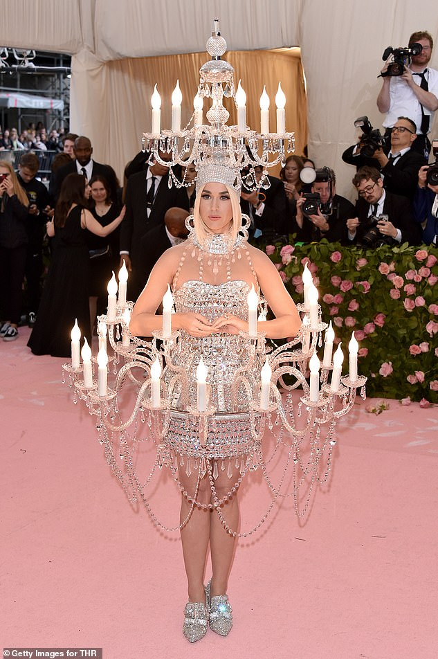 Katy Perry made quite the splash at 2019's Met Gala, where she dressed up as a human chandelier, however she failed to make an appearance at his year's event