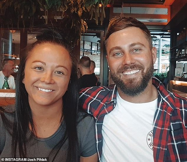 Milestone: Former Married At First Sight star Josh Pihlak gushed over his new girlfriend as they celebrated their one-year anniversary on Tuesday