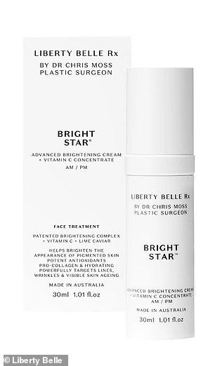 The $168 Bright Star serum is also popular, thanks to its high vitamin C content which fights signs of ageing and clears congestion