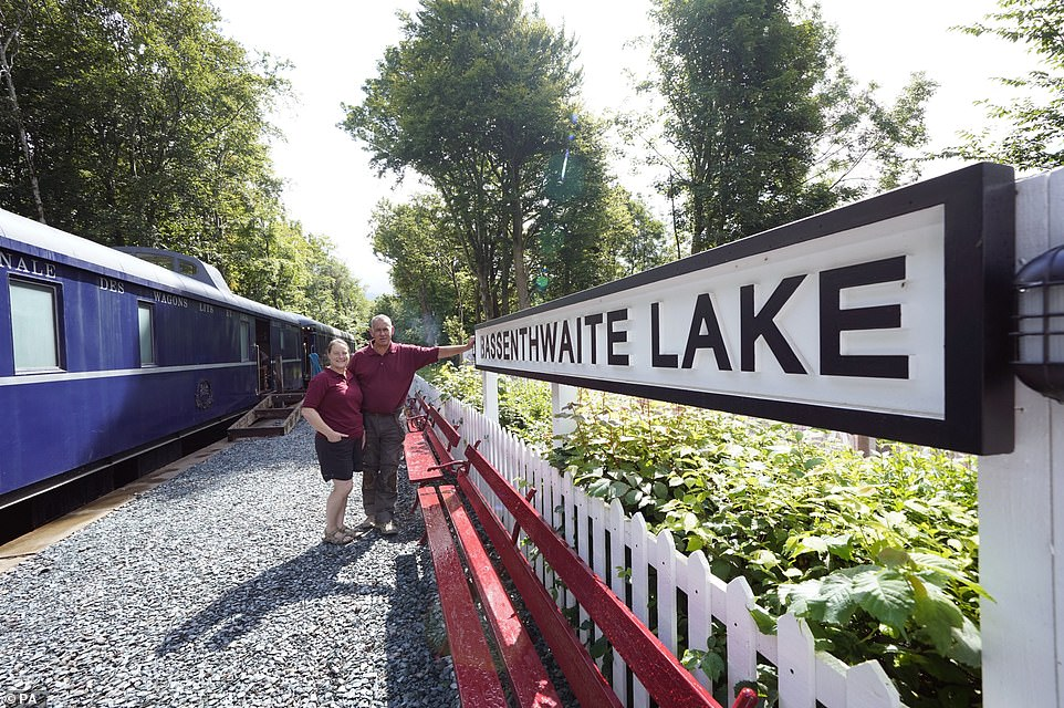Bassenthwaite Lake Station was on the Cockermouth, Keswick and Penrith Railway