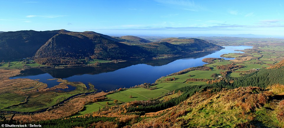 This image showsBassenthwaite Lake - a truly magnificent backdrop for a cup of tea and a slice of cake