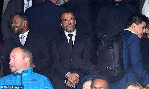 Super agent Mendes is Fati's representative and helped seal Cristiano Ronaldo's United move