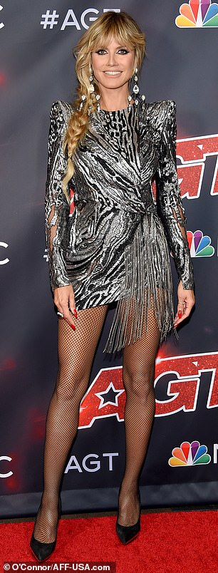 Dueling beauties: Heidi Klum and Sofia Vergara pulled out all the stops on Tuesday evening as they hit the America's Got Talent pre-show red carpet