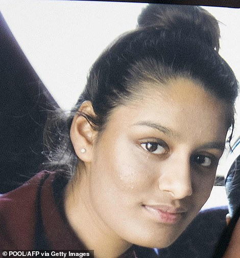 Shamima Begum was 15 when she ran away with two other schoolgirls to Syria to marry a Dutch jihadi in 2015