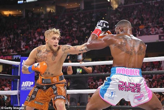 The 24-year-old kept his undefeated record in boxing after beating the former UFC star